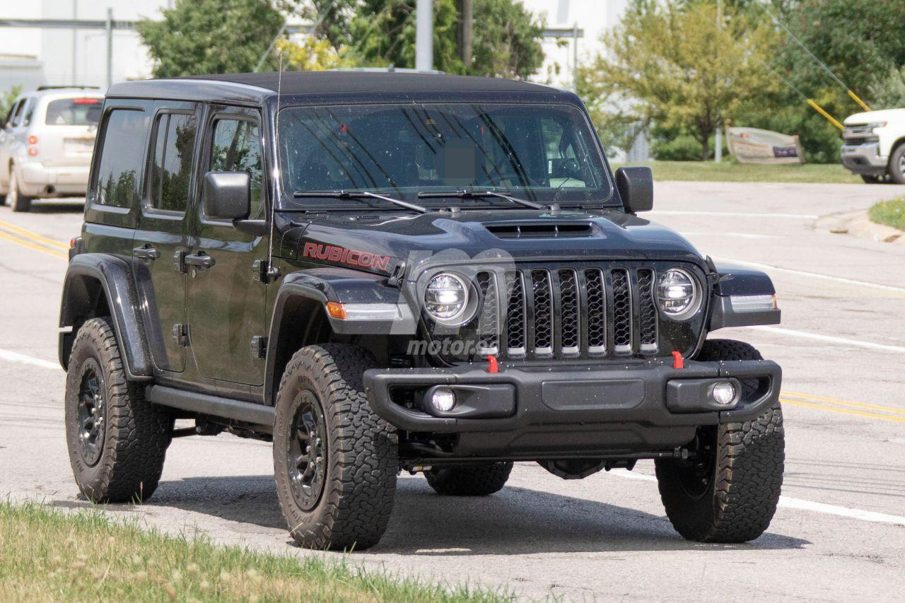 Cazado El Primer Prototipo Del Jeep Wrangler V8 Descubierto En La Calle Motor Es