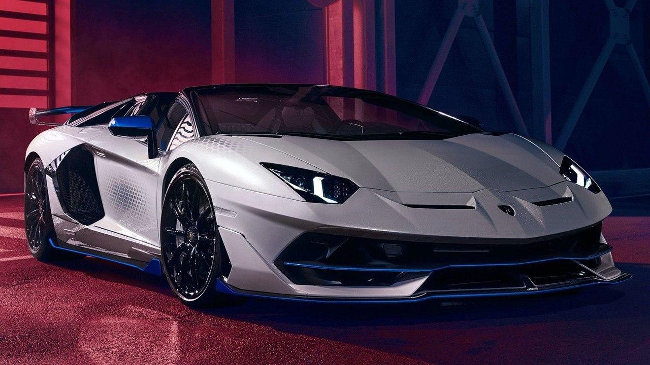 2021 Lamborghini Aventador Spy Shoot