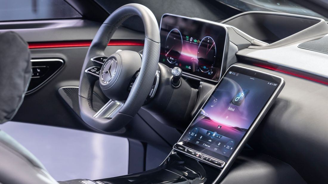Desvelado El Interior Del Nuevo Mercedes Clase S 2021 La Tecnologia Digital Se Aduena Motor Es