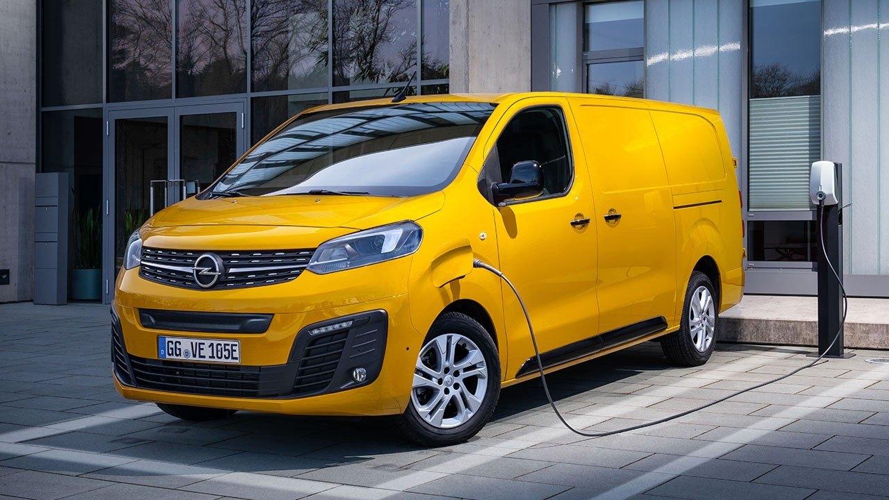 Precio Del Opel Vivaro E Llega La Nueva Furgoneta Electrica Motor Es