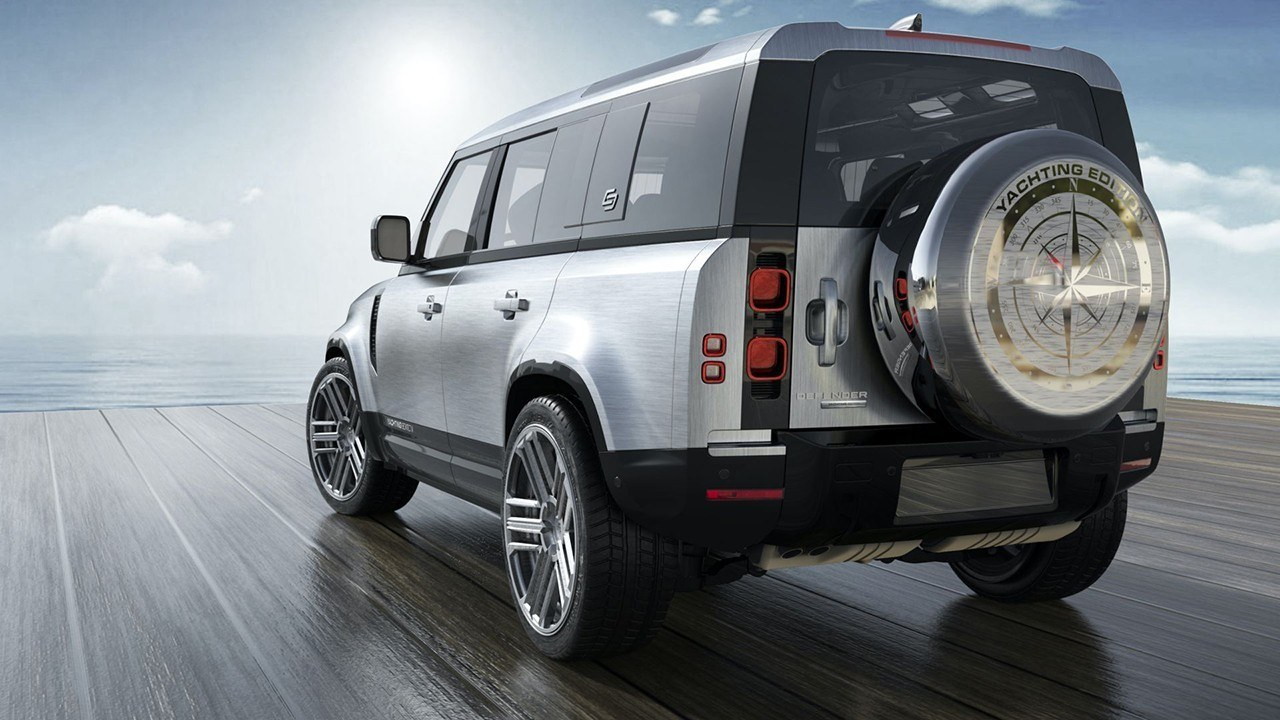 Land Rover Defender Yachting Edition - posterior