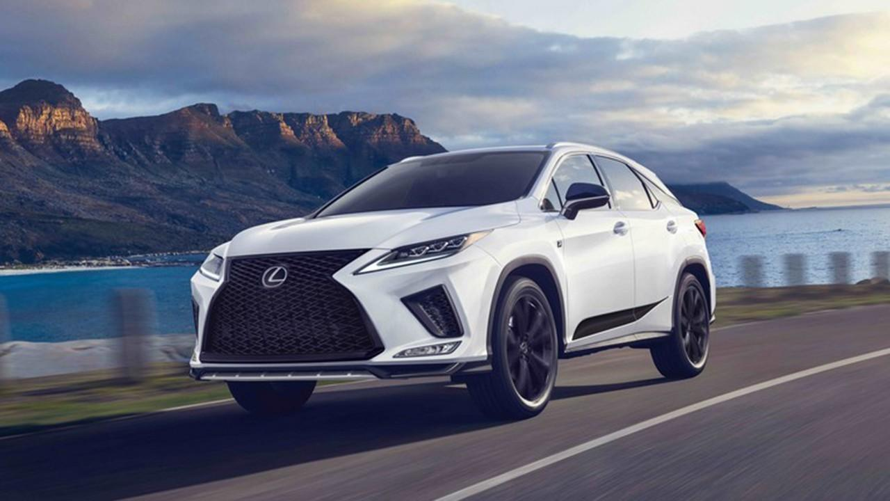 2021 Lexus Rx 350 F Sport Suv Price and Review