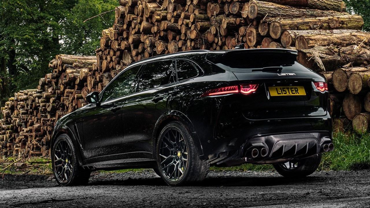 Lister Stealth Jaguar F-Pace SVR