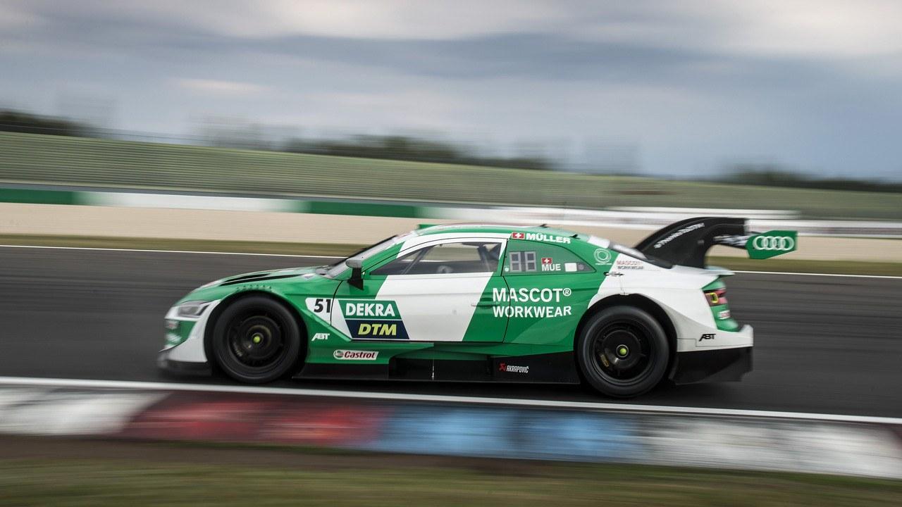 Robin Frijns se hace con la primera pole del dTM en Lausitzring