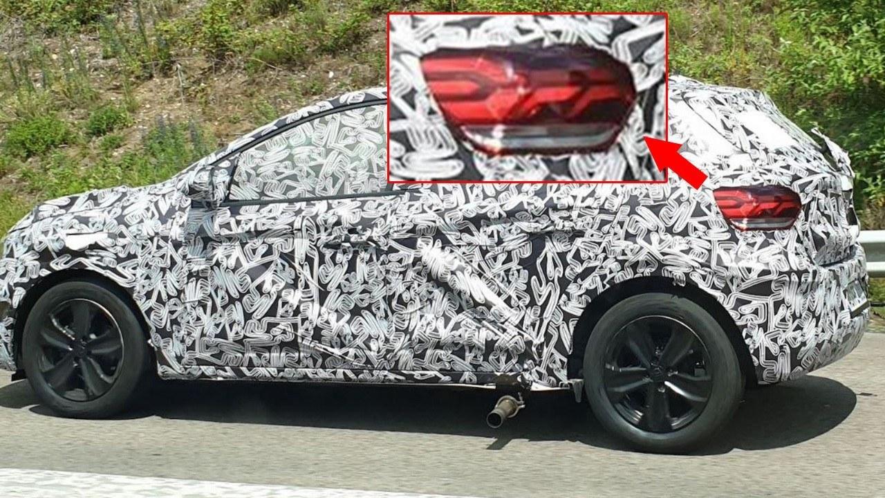 Dacia Sandero 2021 - foto espía lateral