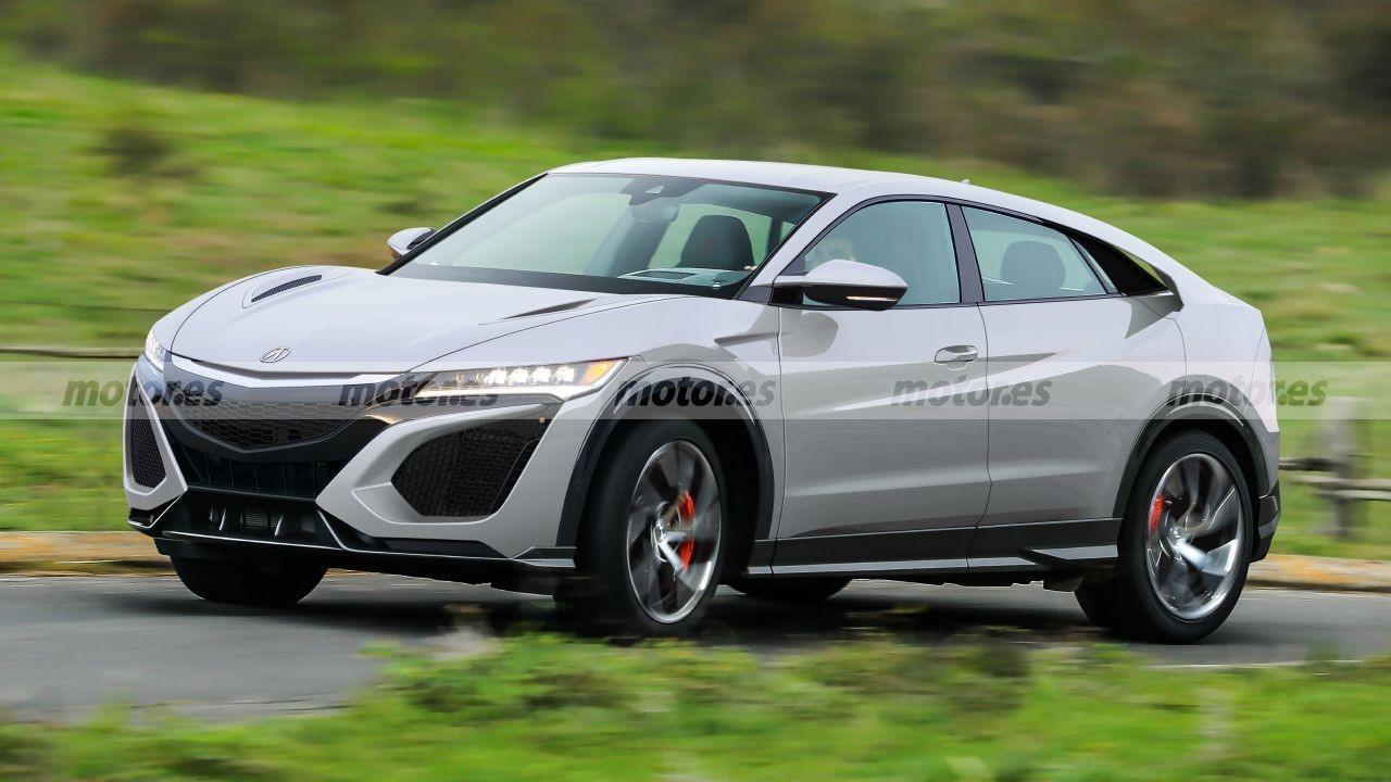 Honda Nsx Suv Jugamos Con El Posible Aspecto Del Futuro Crossover Deportivo Japones Motor Es