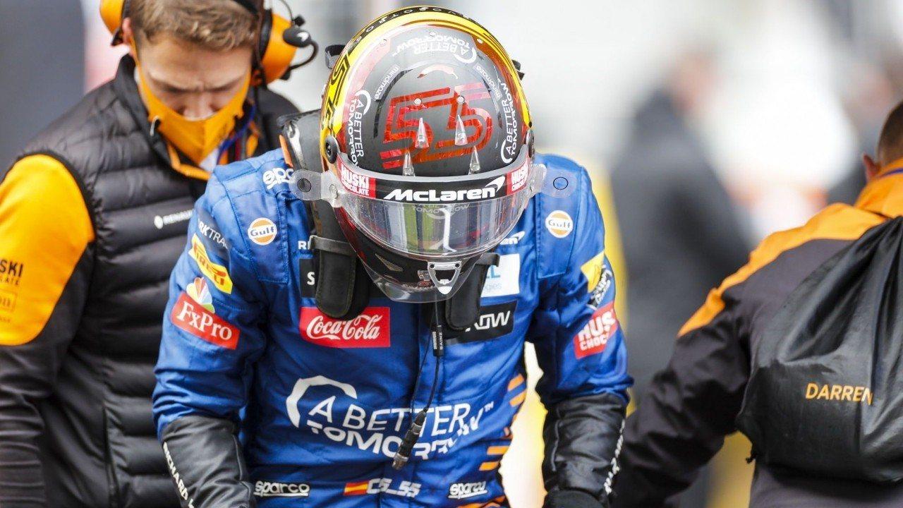 Sainz valora hacer un test con el Ferrari de 2018 para preparar la F1 de 2021
