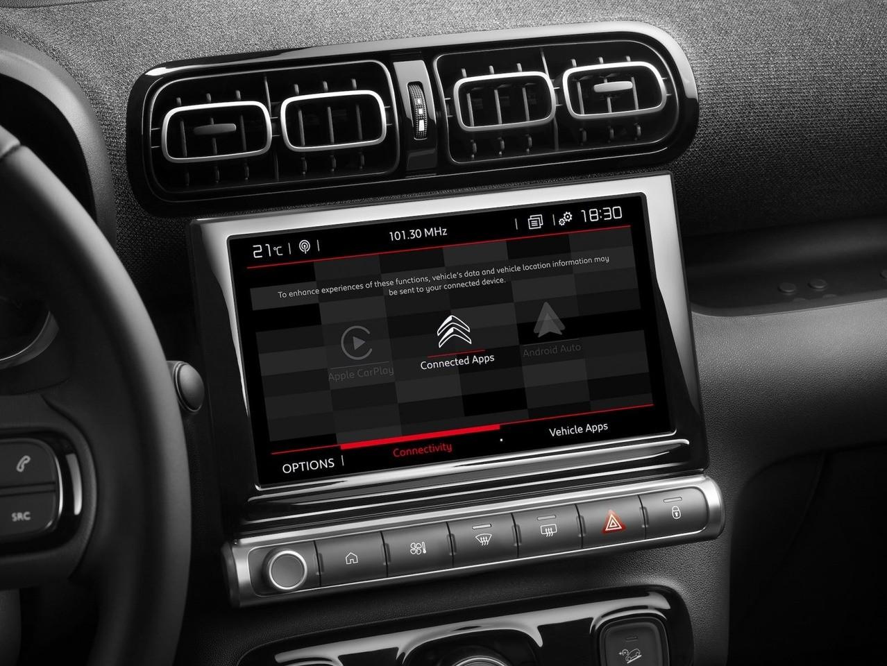 Foto Citroën C3 Aircross 2021 - interior