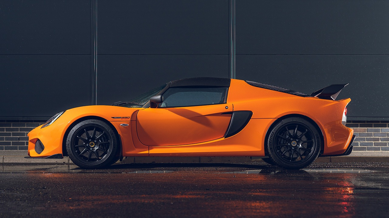Lotus Exige Sport 390 Final Edition - lateral