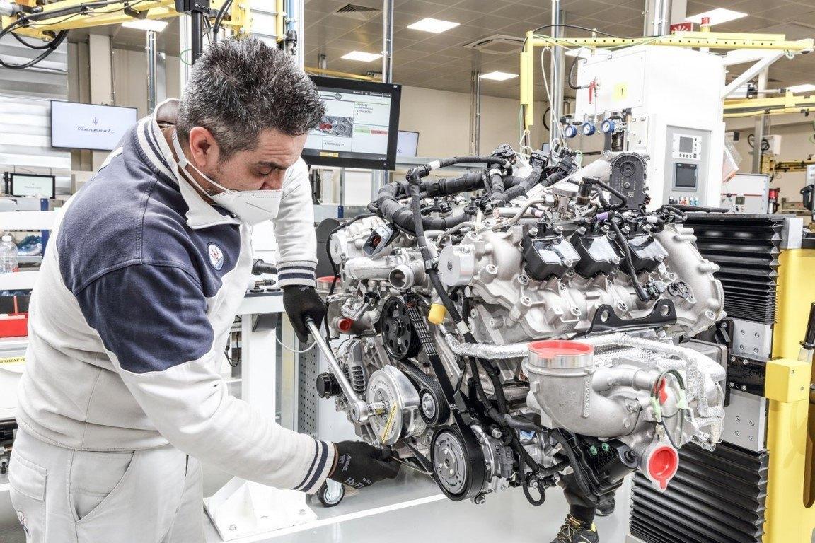 Foto Maserati Nettuno - técnica