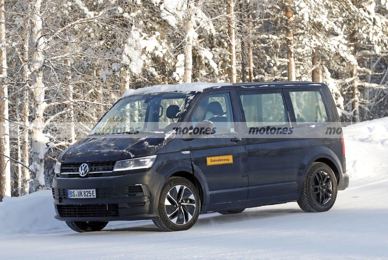Foto espía Volkswagen ID. Buzz 2022 - exterior