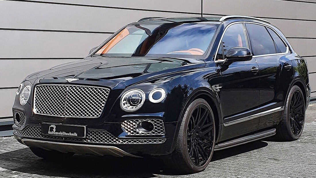 B&B Bentley Bentayga, the British SUV is transformed into a luxury missile