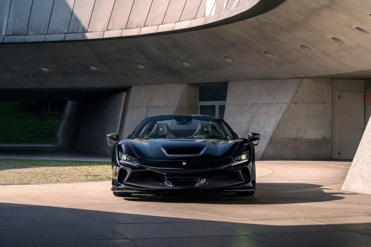 Novitec Ferrari F8 Spider, an object of desire with a lot of carbon fiber