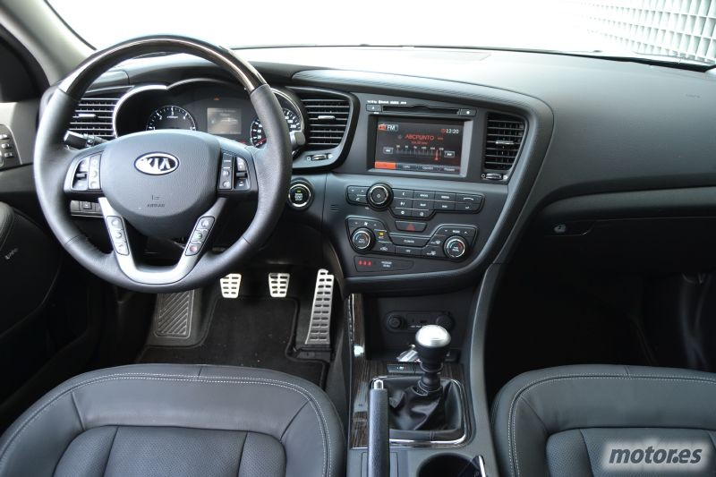 Salpicadero KIA Optima