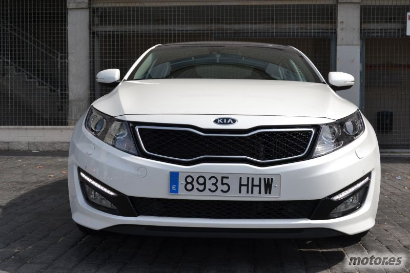 Frontal KIA Optima