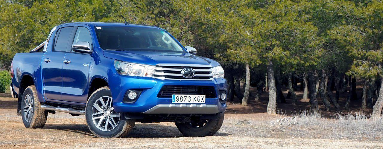 Prueba Toyota Hilux 2018
