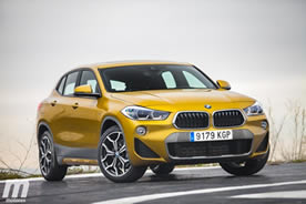 Vista frontal BMW X2 sDrive20i