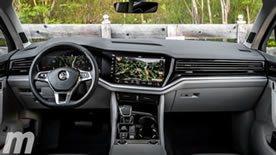 Interior Volkswagen Touareg 2018