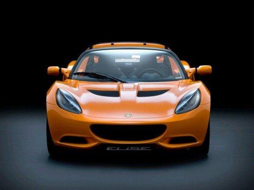 Третье поколение Lotus Elise.